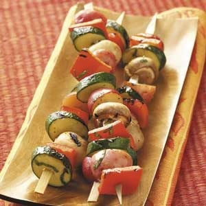 Just Delish Veggie Kabobs