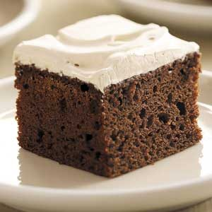 Frosted Mocha Cake Recipe