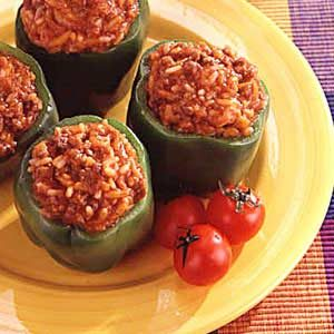 Plantation Stuffed Peppers Recipe