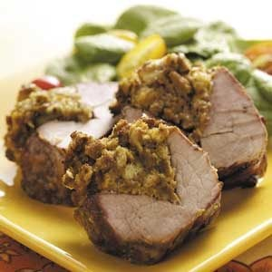 Grilled Stuffed Pork Tenderloin Recipe