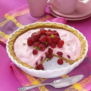 Marshmallow Raspberry Pie Recipe