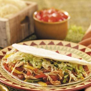 Busy Mom's Chicken Fajitas Recipe