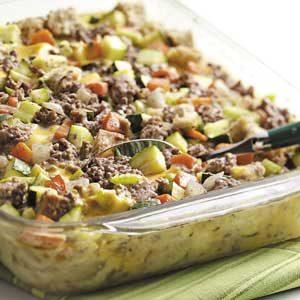 Makeover Zucchini Supper Recipe