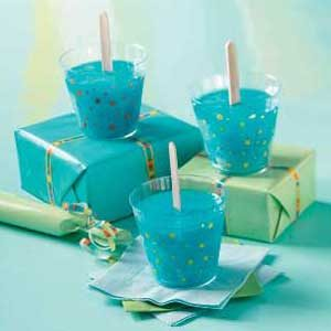 Berry Blue Icy Summer Treats Dessert Recipe