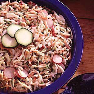 Zucchini Coleslaw Recipe