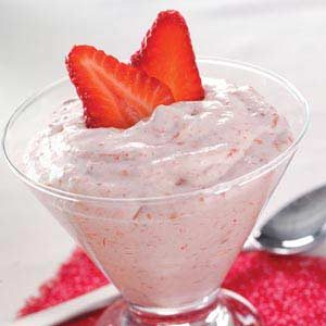 Strawberry Rhubarb Cream