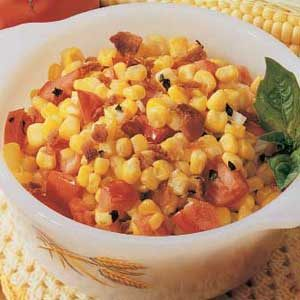 Corn and Bacon Medley Recipe