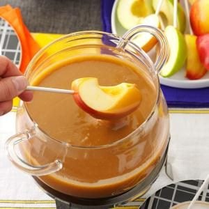 Caramel Apple Fondue Recipe