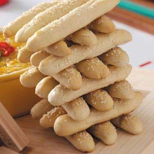 Breadsticks Jenga Recipe