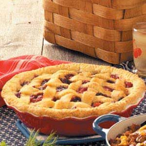 Cherry-Berry Peach Pie Recipe