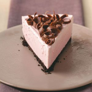 Creamy Frozen Raspberry Dessert Recipe