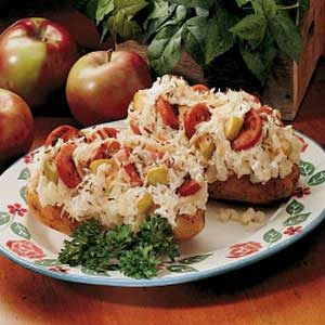 Hearty Stuffed Potatoes Recipe