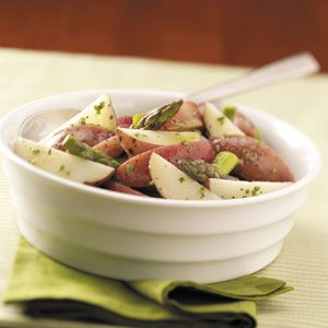 Tangy Asparagus Potato Salad Recipe
