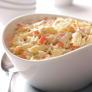 Favorite Crab Pasta Salad Recipe
