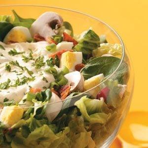 Layered Ranch Salad Recipe