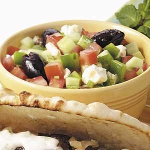 Greek Vegetable Salad Recipe