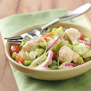 Easy Italian Tossed Salad Recipe
