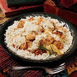 Tarragon Skillet Chicken Recipe