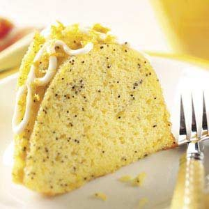 Poppy Seed Citrus Cake Recipe