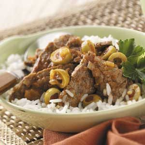 Stewed Beef with Rice Recipe