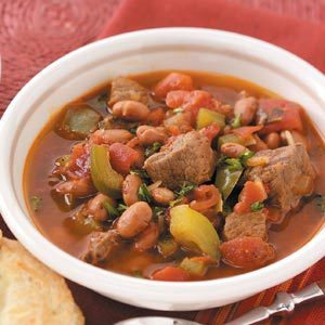 Chili Beef Stew Recipe Taste of Home