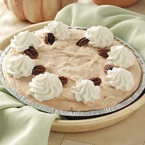 Quick Frozen Pumpkin Pie Recipe