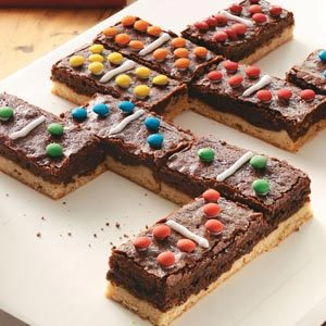 Domino Brownies Recipe