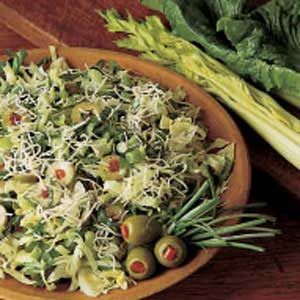 Swiss Cheese Salad Recipe