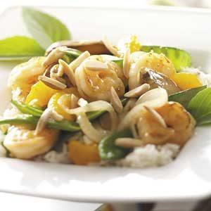 Garlic Almond Shrimp Recipe
