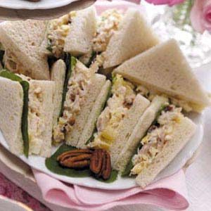 Tuna Tea Sandwiches