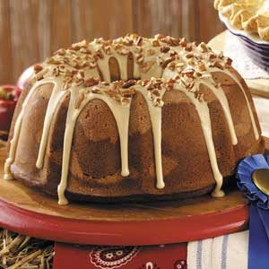 Butterscotch Swirl Cake Recipe
