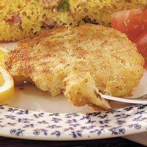 Seasoned Crab Cakes Recipe
