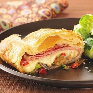 Hot Ham & Cheese Slices