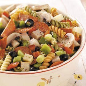 Zesty Chicken Pasta Salad Recipe