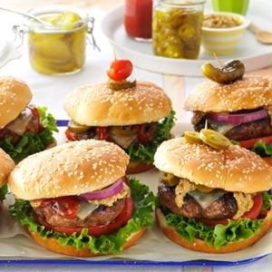 Southwestern Backyard Burgers Recipe