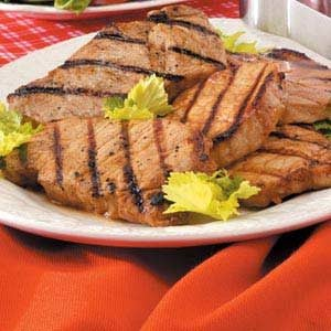 Favorite Marinated Pork Chops Recipe