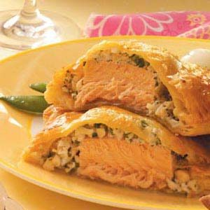Seafood en Croute Recipe photo by Taste of Home