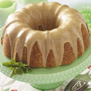 Buttermilk Cake with Caramel Icing Recipe