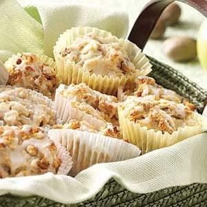 Glazed Cinnamon Apple Muffins Recipe