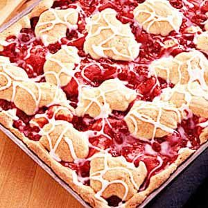 Cherry Swirl Coffee Cake Recipe