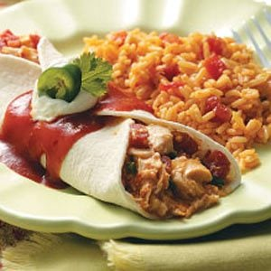 Taco Chicken Wraps Recipe
