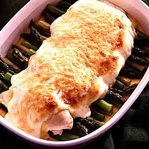 Chicken Asparagus Divan Recipe