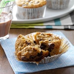 Chocolate Chip Oatmeal Muffins Recipe