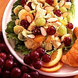 Curried Chicken Fruit Salad Recipe