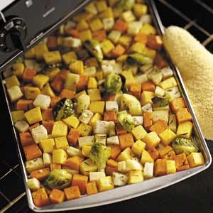 Rosemary Root Vegetables Recipe