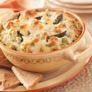 Baked Asparagus Dip Recipe
