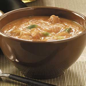 Creamy Curried Pumpkin Soup Recipe