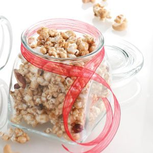Caramel Corn with Nuts