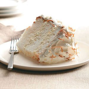 Orange-Coconut Angel Food Cake Recipe