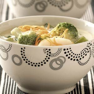 Easy Cheese Broccoli Soup Recipe